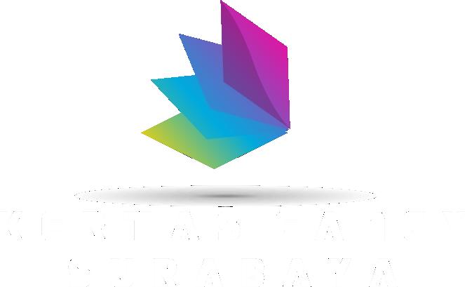 Logo Kertas Fancy Putih
